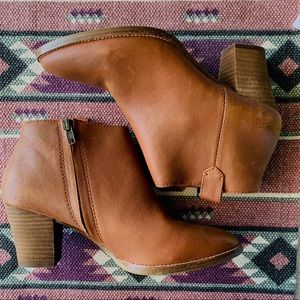 madewell Billie heeled ankle boot
